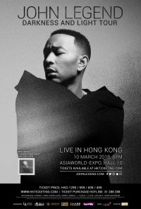 John Legend - Hong Kong