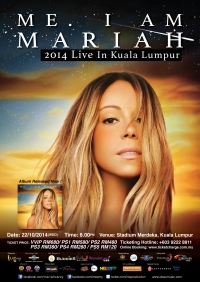 Mariah Carey - Kuala Lumpur, Malaysia