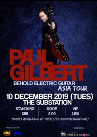 Paul Gilbert - Singapore