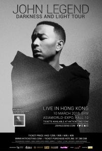 John Legend - Hong Kong